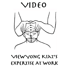 thai massage head