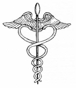 The Symbol of Caduceus